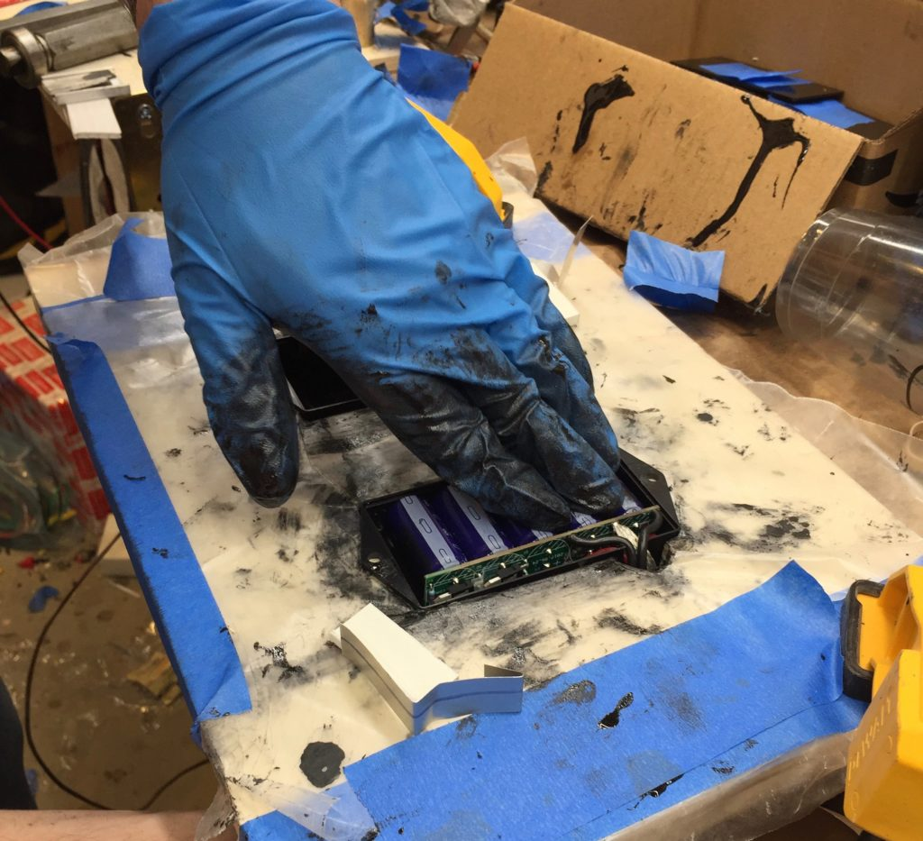 reinstalling the electronics