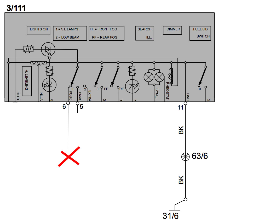 LSM diagram with pin 6 hack