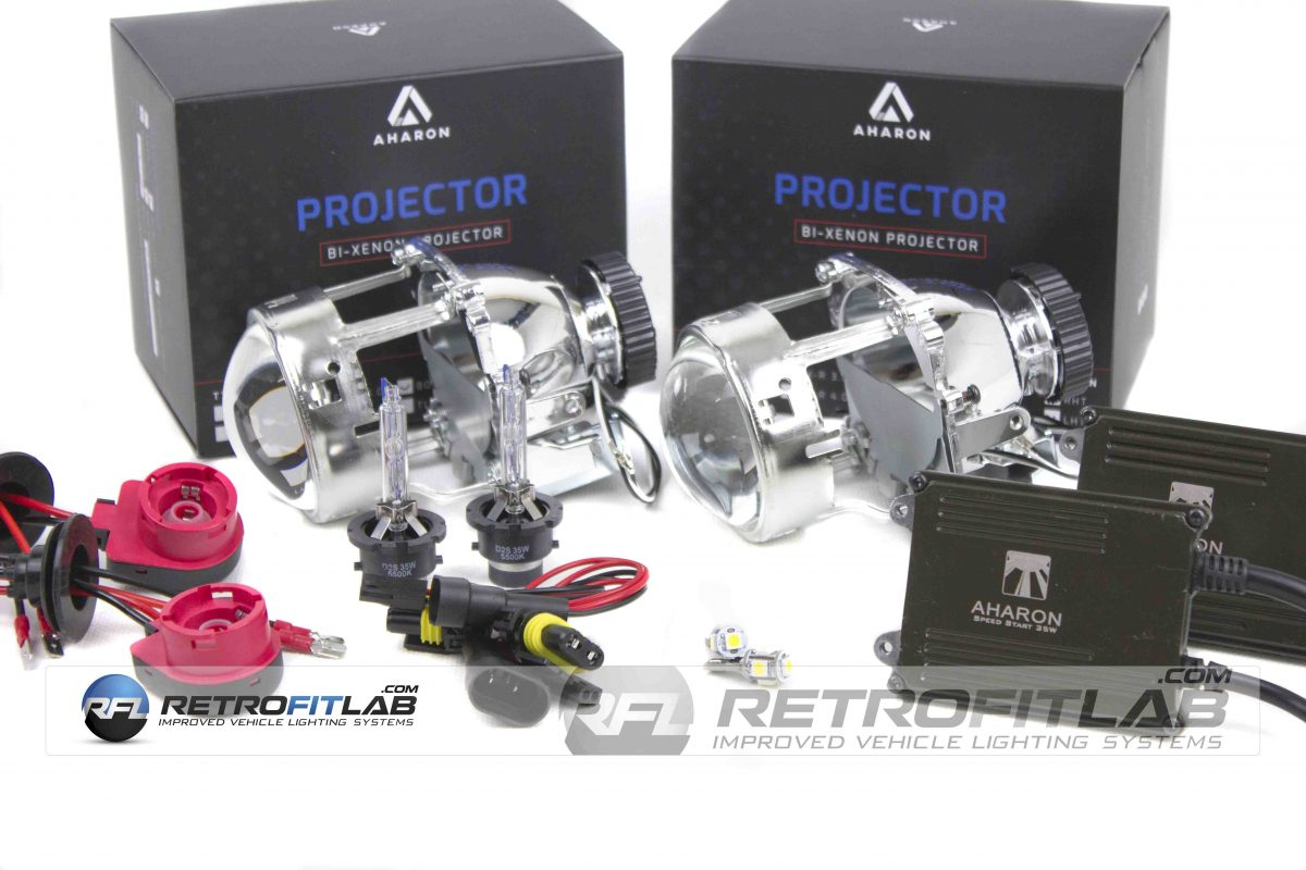 Retrofitlab V50 Retroquick Projector Kit and Aharon Ballasts